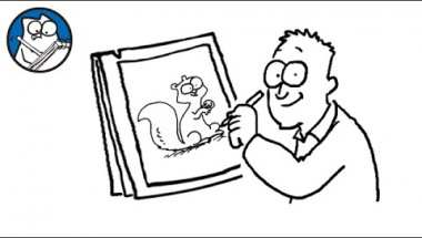 Simon Draws: Squirrels