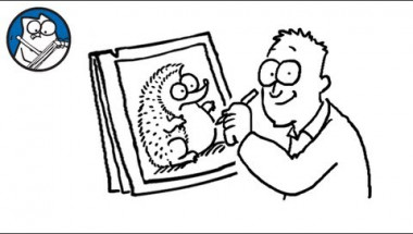 Simon Draws: The Hedgehog