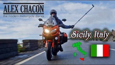 Sicily Italy on a Kawasaki Versys 1000 and 650