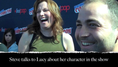Lucy Lawless at NY Comic Con