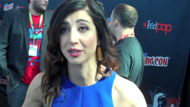Dana DeLorenzo at NY Comic Con