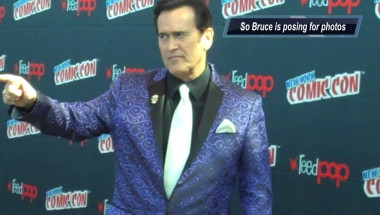 Bruce Campbell & my camera