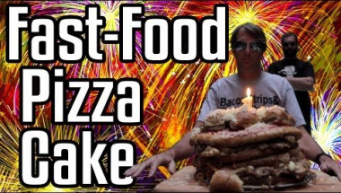 Fast Food Pizza Cake - Epic Meal Time