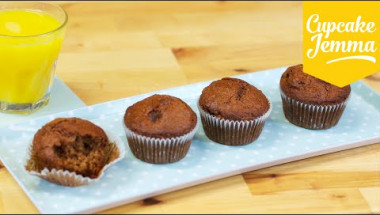 Quick & Easy Breakfast Muffin Recipe | Cupcake Jemma