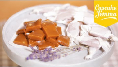 How to make Lavender Caramels | Cupcake Jemma
