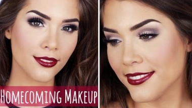 DRUGSTORE Homecoming or Formal Makeup Tutorial | Fall/Autumn Inspired