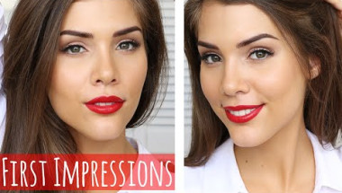 Full Face of First Impressions | Covergirl, Max Factor, The Balm & More!