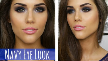 BLUE SMOKEY EYE MAKEUP TUTORIAL | Prom, Party, Clubbing or Special Event Makeup