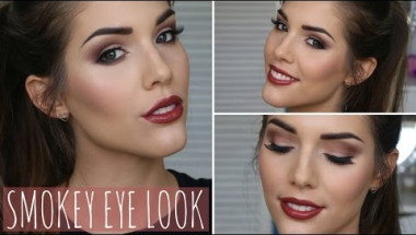 Brown Smokey Eye Fall/Autumn Makeup Tutorial | ft. Too Faced Chocolate Bar Palette