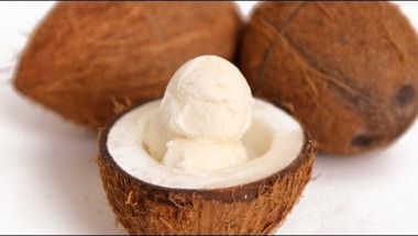 Coconut Ice Cream Recipe - Laura Vitale - Laura in the Kitchen Episode 589