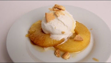 Roasted Pineapple Sundae Recipe - Laura Vitale - Laura in the Kitchen Episode 360